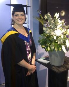 My MBA graduation, April 2012