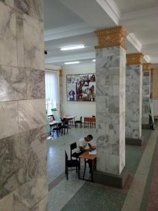 Inside the Kyrgyz State Agrarian University, Bishkek, Kyrgyzstan