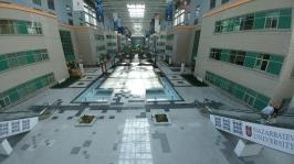 Impressive main building, Nazarbayev University, Astana, Kazakhstan