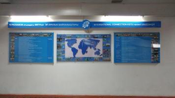 International connections, Kyrgyz State Technical University, Bishkek, Kyrgyzstan