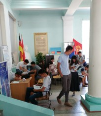 Admissions season part 2, Kyrgyz State Technical University, Bishkek, Kyrgyzstan