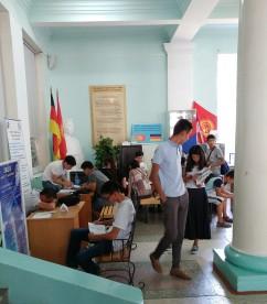 Admissions season part 2, Kyrgyz State Technical University, Bishkek, Kyrgyzstan