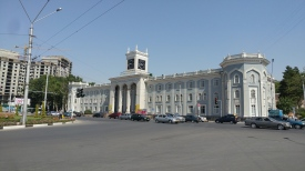 State Institute for Visual Arts and Design (building used to host the National Museum), Dushanbe, Tajikistan