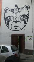 Street art in Roma Norte