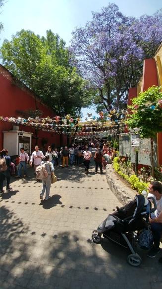 Entrance to Artisans' Market in Coyocatan