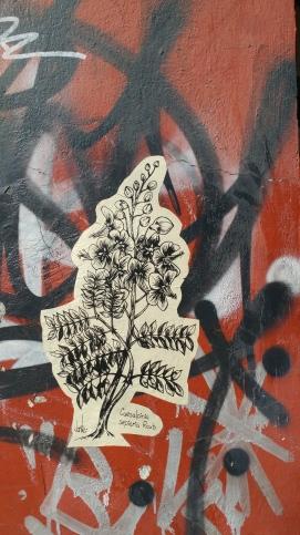 Street art vs graffiti
