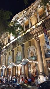 City theatre at night