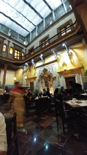 Sanborns restaurant, interior view