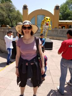 We saw more images of animals than live animals at the Chapultepec park zoo
