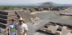 Asad at the moon pyramid