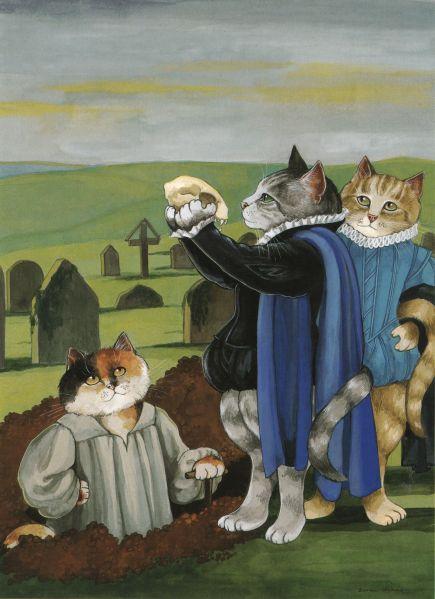 Hamlet cat